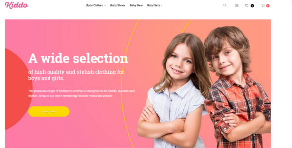 Kids Mobile Store Magento Theme