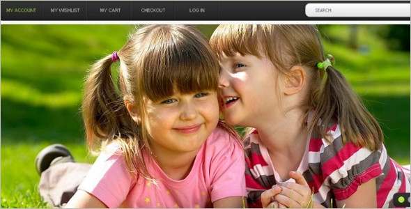 Kids Photography Magento Theme