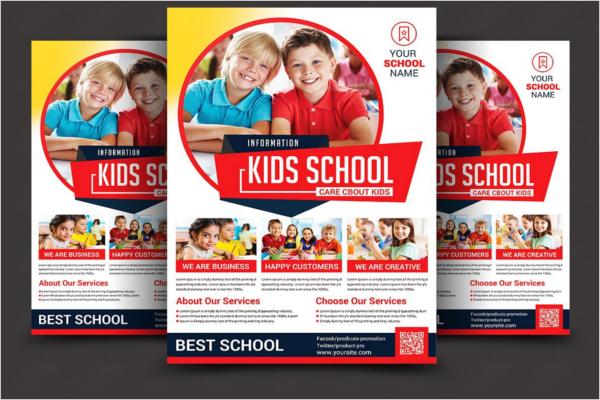 Kids School Design Poster