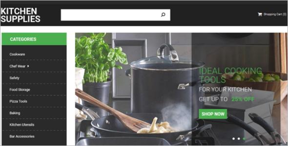 Kitchen Essentials OpenCart theme