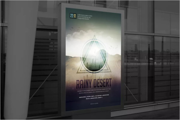 Latest Poster Design Template