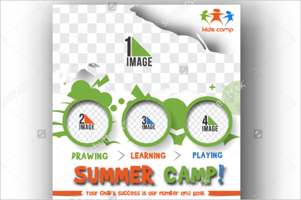 Learning Summer Camp Flyer Design