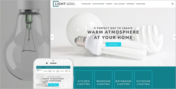 Light business opencart template for Light cms templates