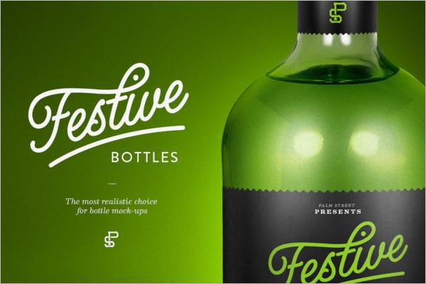 Liquor Bottle Design