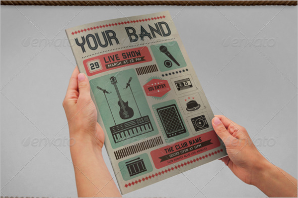 Live Show Music Poster Template