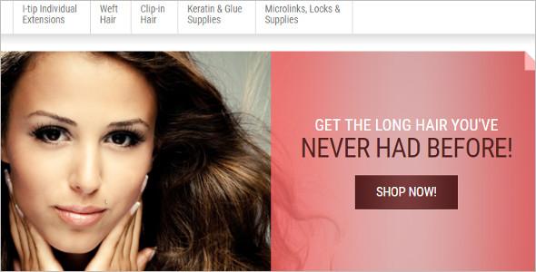 Long Hair OpenCart Template