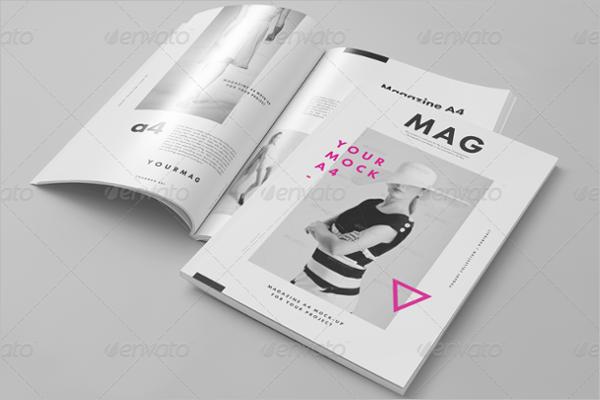Magazine Brochure Mock-up Design