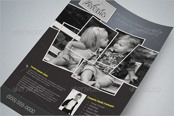 Magazine Flyer Template