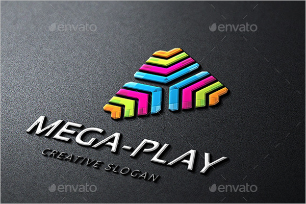 Mage Play Photoshop Logo Template