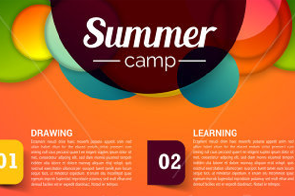 Marketing Summer Camp Flyer