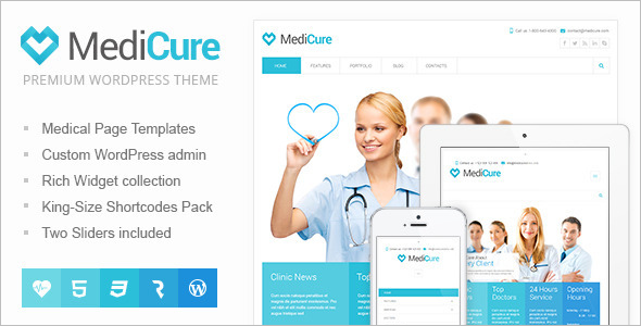 MediCure Woocommerce Theme
