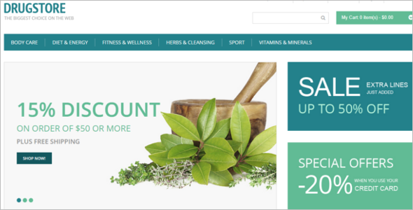 Medical Business Magento Theme