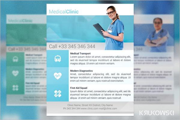 Medical Clinic Poster Design
