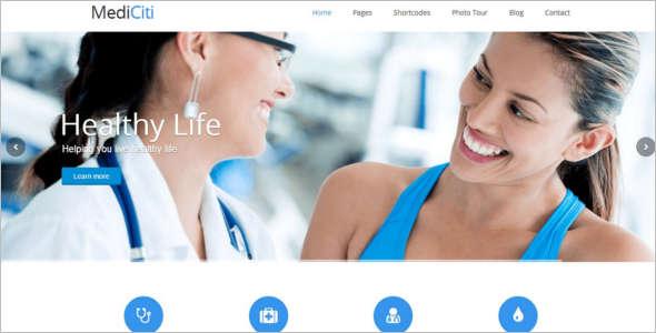 Medical Help Desk WordPress Theme