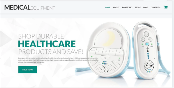 Medical Instruments WooCommerce Theme