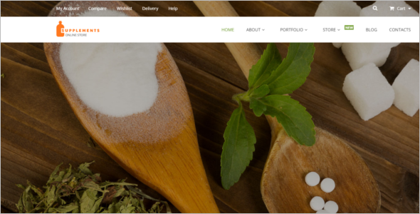 Medical Nutrition WooCommerce Theme