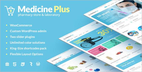 Medical Pharmacy & Drugstore Theme