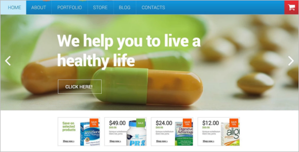 Medical Pharmacy WooCommerce Theme