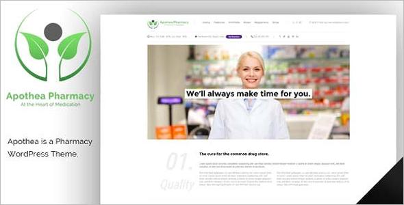 Medical Pharmacy Woocommerce Theme