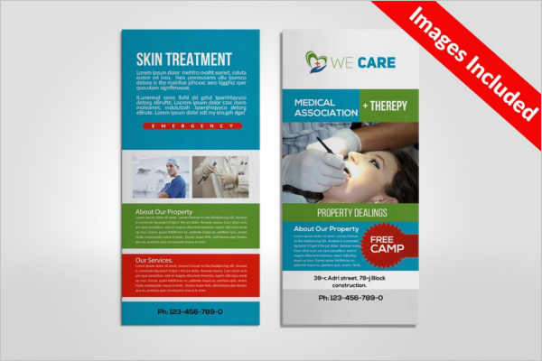 Medical Business Card Designs Free Premium Templates - Rack card design template