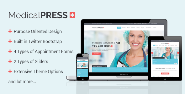MedicalPress WooCommerce Theme