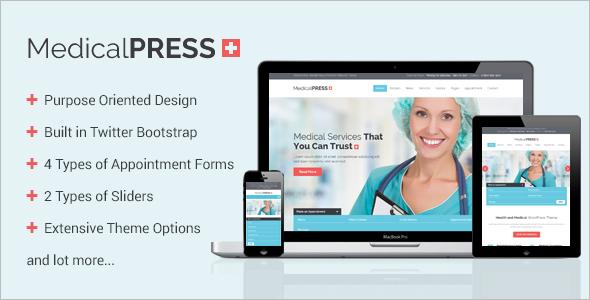MedicalPress WooCommerce Theme
