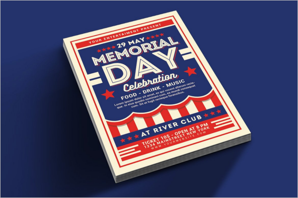 Memorial Day Celebration Template
