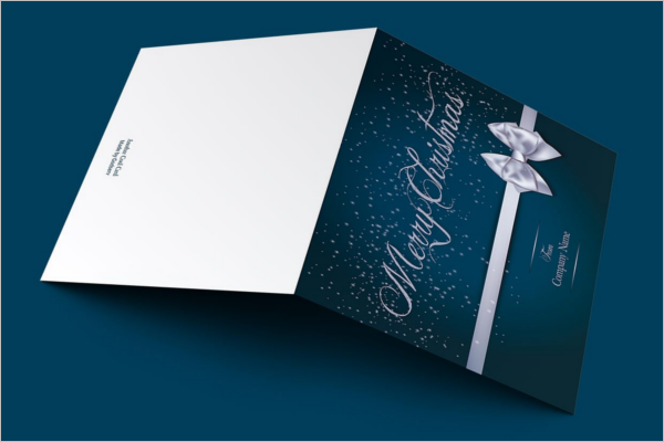 Merry Christmas Church Business Card