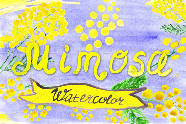 Mimosa Decoration Pattern