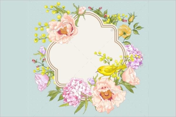 Mimosa flower Pattern