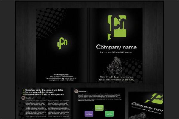 Minimal Brochure Template Design