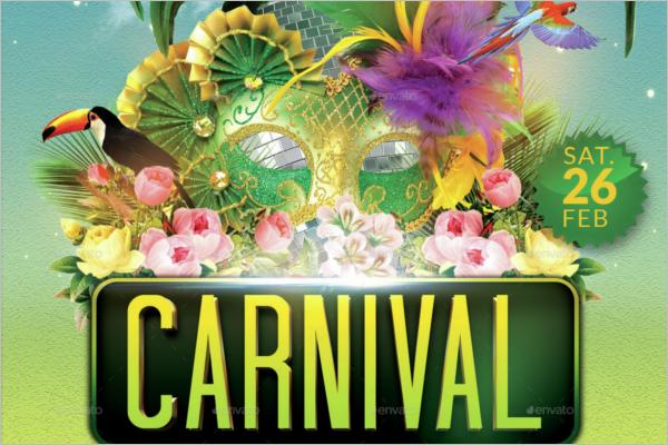 Minimal Carnival Flyer
