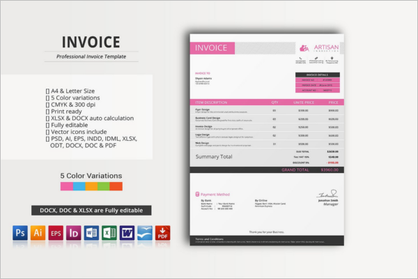 Minimal Invoice Proposal Template