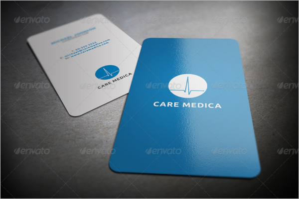 35 medical business card designs free premium templates minimal medical business card template cheaphphosting Image collections