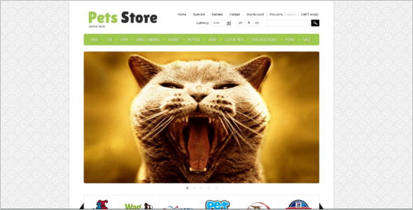Minimal Pet Store PrestaShop Theme