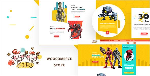 Minimal Toy Store WooCommerce Theme