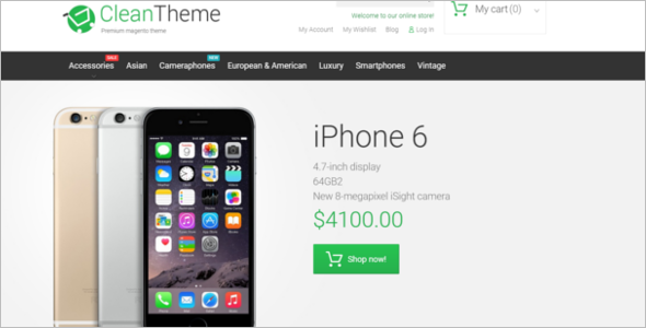 Mobile Electronic Magento Theme