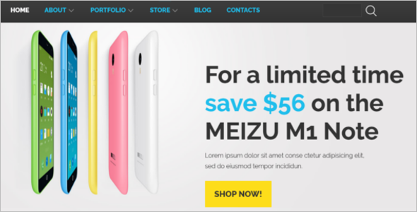 Mobile Technology WooCommerce Theme