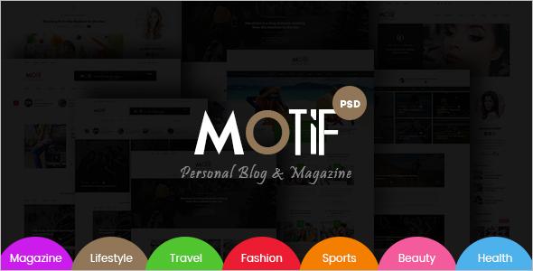 ModernBlog & Magazine Template