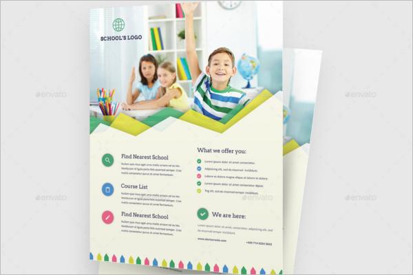 Modern Education Flyer Template