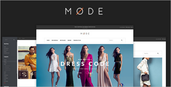 Modern Fashion Opencart Theme