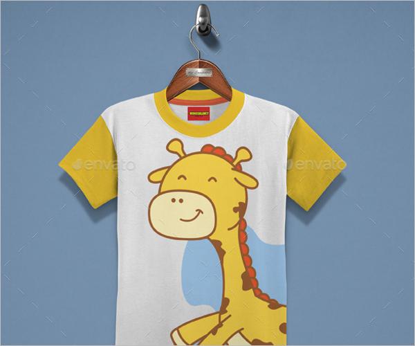 Modern Kids T-Shirt Design
