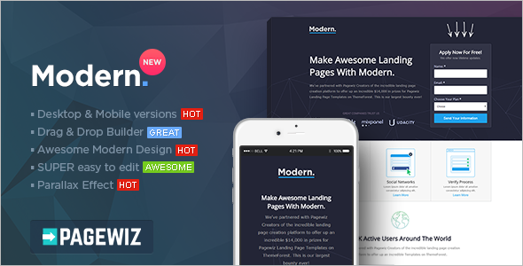 Modern-Pagewiz-LandingPage-Template