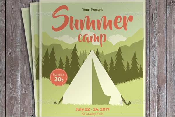 Model Summer Camp Flyer