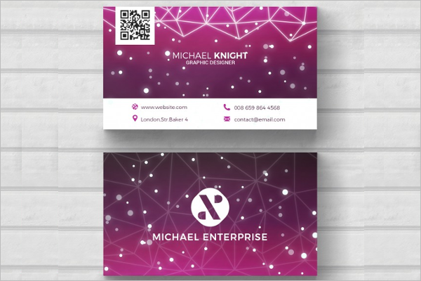 Modern Tech Business Card Template