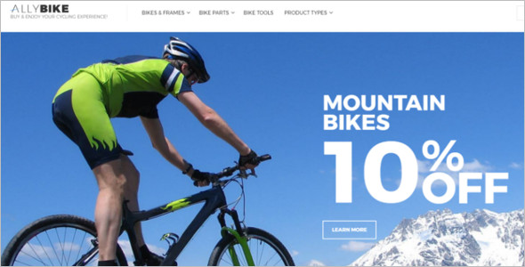 Mountain Bike Magento Theme