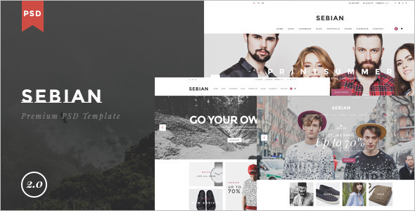 Multi Purpose E-Commerce Portfolio Template
