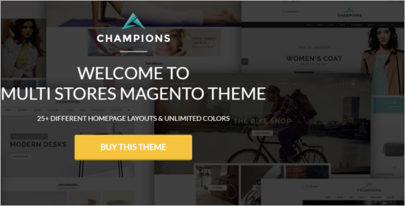 Multi-Purpose Magento Store Theme