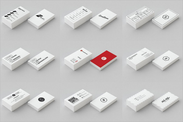 Multiple Business Card Design