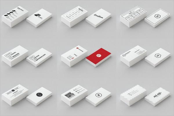 Multiple Business Card Design